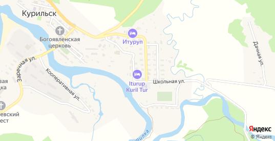 Улица Приморский бульвар в Курильске с номерами домов на карте. Спутник и схема онлайн