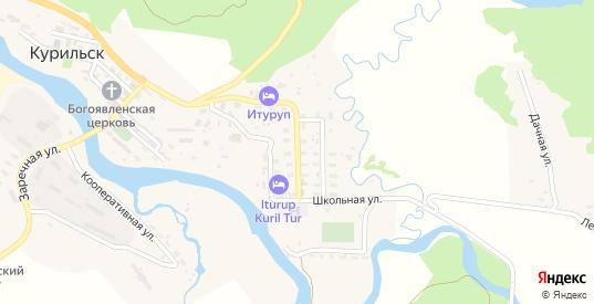 Улица Полевого в Курильске с номерами домов на карте. Спутник и схема онлайн