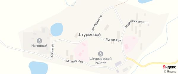 Новая улица на карте Штурмового поселка Магаданской области с номерами домов