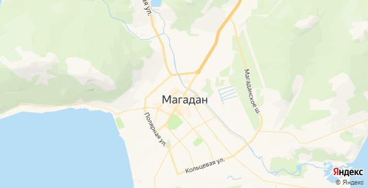 Карта Магадана с улицами и домами подробная. Показать со спутника номера домов онлайн