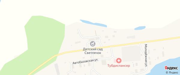 Северная улица на карте поселка Зырянки Якутии с номерами домов