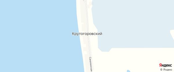 Карта Крутогоровского поселка в Камчатском крае с улицами и номерами домов