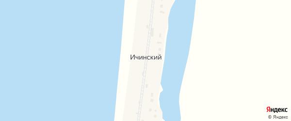 Геологическая улица на карте Ичинский поселка Камчатского края с номерами домов