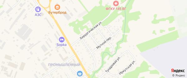 Волгоградская улица на карте Елизово с номерами домов