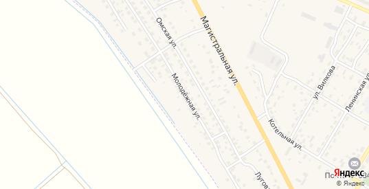 Молодежная улица в Елизово с номерами домов на карте. Спутник и схема онлайн