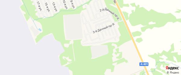Садовое товарищество Нива (СМУ-4 Треста Главкамчатстрой) на карте Елизово с номерами домов