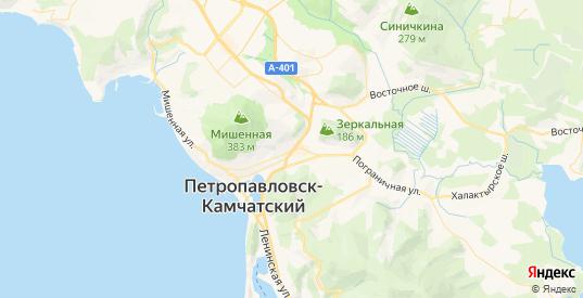 Карта Петропавловска-Камчатского с улицами и домами подробная. Показать со спутника номера домов онлайн