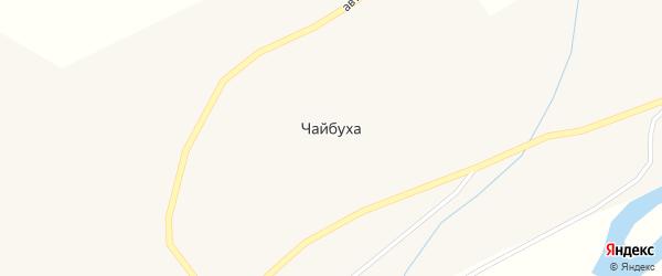 Улица Курилова на карте поселка Чайбуха Магаданской области с номерами домов