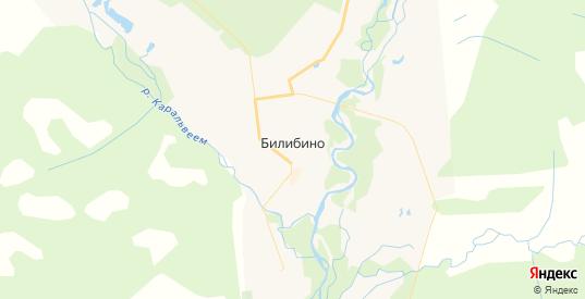 Карта Билибино с улицами и домами подробная. Показать со спутника номера домов онлайн