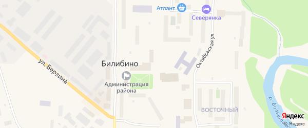 Улица Ленина на карте Билибино с номерами домов