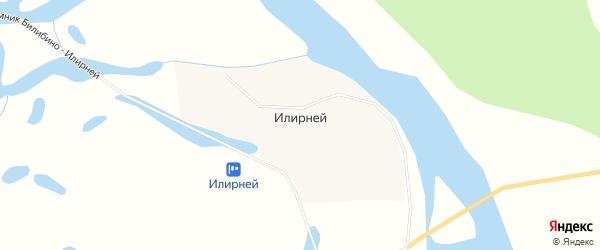 Карта села Илирнея в Чукотском автономном округе с улицами и номерами домов