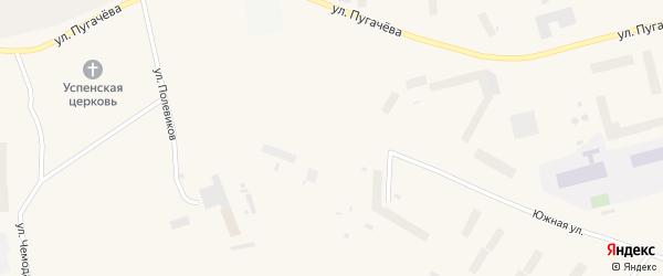 Дорожная улица на карте Певека с номерами домов