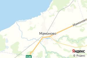 Карта г. Мамоново Калининградская область