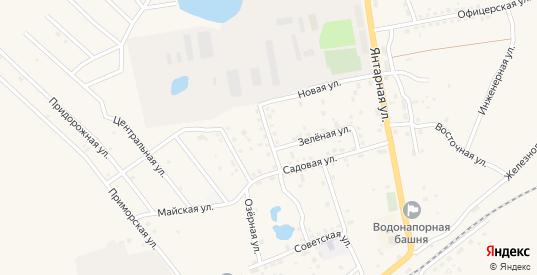 Солдатская улица в Приморске с номерами домов на карте. Спутник и схема онлайн