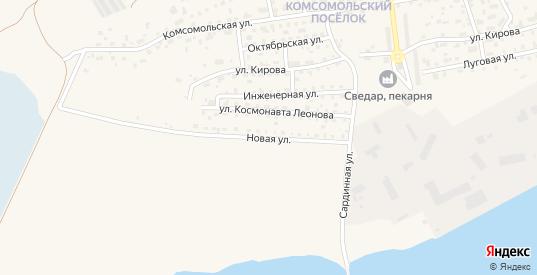 Новая улица в Светлом с номерами домов на карте. Спутник и схема онлайн