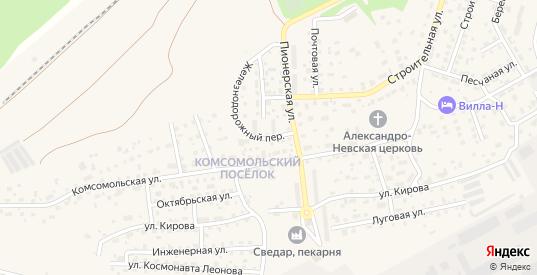 Улица Громова в Светлом с номерами домов на карте. Спутник и схема онлайн