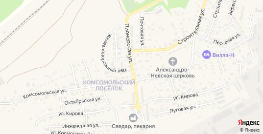 Пионерская улица в Светлом с номерами домов на карте. Спутник и схема онлайн