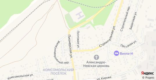 Почтовая улица в Светлом с номерами домов на карте. Спутник и схема онлайн