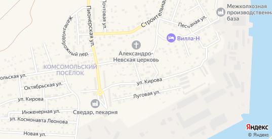 Нагорная улица в Светлом с номерами домов на карте. Спутник и схема онлайн