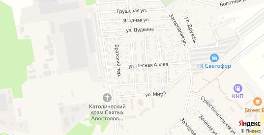 Улица Васнецова в Светлом с номерами домов на карте. Спутник и схема онлайн