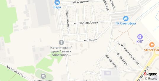 Улица Мира в Светлом с номерами домов на карте. Спутник и схема онлайн