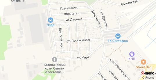 Улица Космонавта Пацаева в Светлом с номерами домов на карте. Спутник и схема онлайн