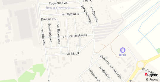 Солнечная улица в Светлом с номерами домов на карте. Спутник и схема онлайн
