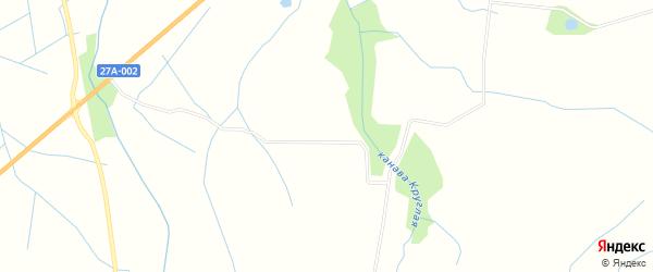 ГСК СНТ Росинка на карте Багратионовский района Калининградской области с номерами домов