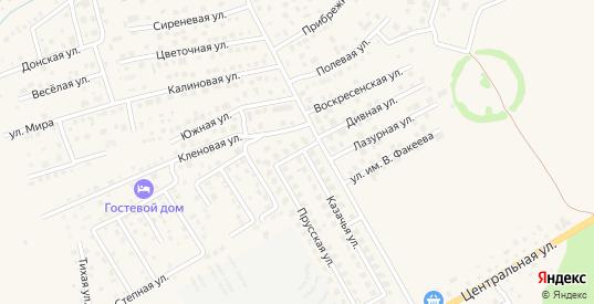 Дюнная улица в Зеленоградске с номерами домов на карте. Спутник и схема онлайн