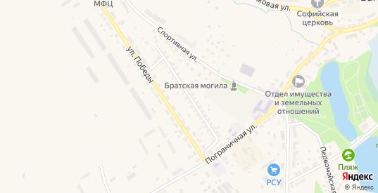 Улица Ковалева в Багратионовске с номерами домов на карте. Спутник и схема онлайн