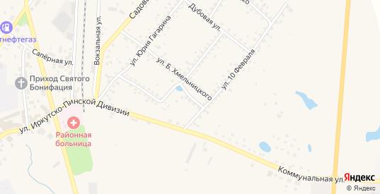 Озерный переулок в Багратионовске с номерами домов на карте. Спутник и схема онлайн