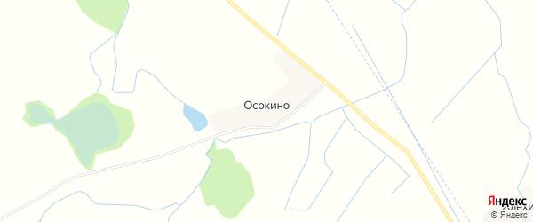 Карта поселка Осокино в Калининградской области с улицами и номерами домов
