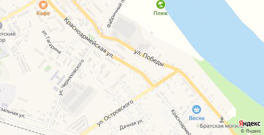 Красноармейская улица в Немане с номерами домов на карте. Спутник и схема онлайн