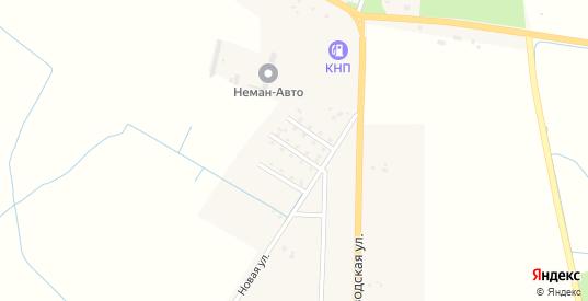 Кленовая улица в Немане с номерами домов на карте. Спутник и схема онлайн
