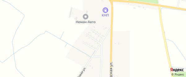 Кленовая улица на карте Немана с номерами домов