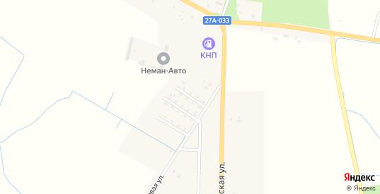 Садовая улица в Немане с номерами домов на карте. Спутник и схема онлайн