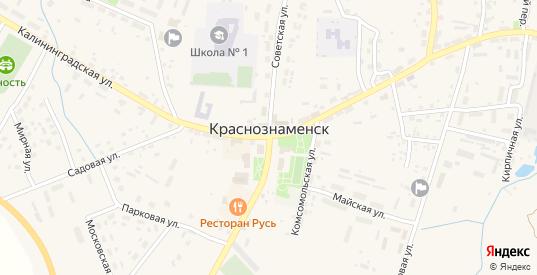 Дальняя Дачная улица в Краснознаменске с номерами домов на карте. Спутник и схема онлайн