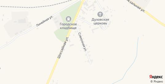 Совхозная улица в Нестерове с номерами домов на карте. Спутник и схема онлайн