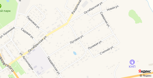 Луговая улица в Нестерове с номерами домов на карте. Спутник и схема онлайн