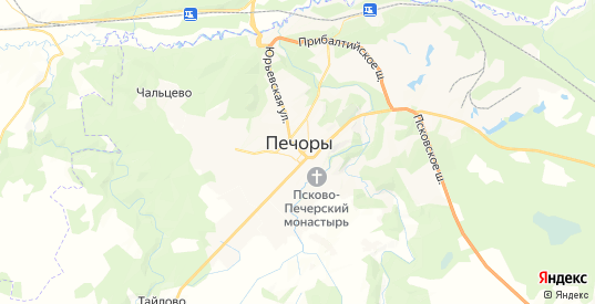 Карта Печор с улицами и домами подробная. Показать со спутника номера домов онлайн