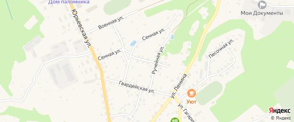 Улица Калеви на карте Печор с номерами домов