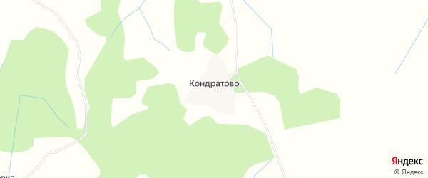 Карта деревни Кондратово в Псковской области с улицами и номерами домов