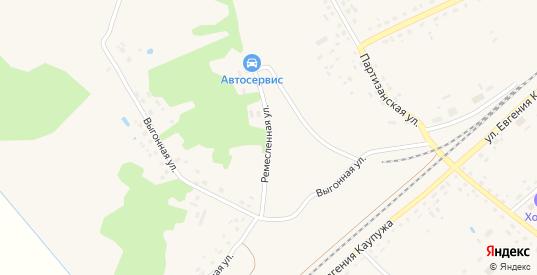 Выгонная улица в Пыталово с номерами домов на карте. Спутник и схема онлайн