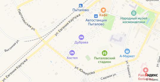 Комсомольская улица в Пыталово с номерами домов на карте. Спутник и схема онлайн