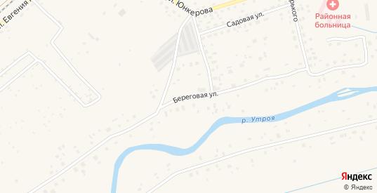 Береговая улица в Пыталово с номерами домов на карте. Спутник и схема онлайн