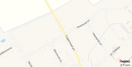Режецкая улица в Пыталово с номерами домов на карте. Спутник и схема онлайн