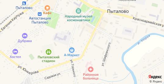Рабочая улица в Пыталово с номерами домов на карте. Спутник и схема онлайн