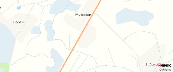 Карта деревни Карецкие в Псковской области с улицами и номерами домов