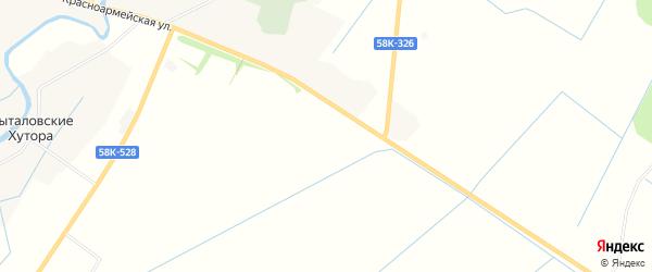 Карта деревни Себежи в Псковской области с улицами и номерами домов