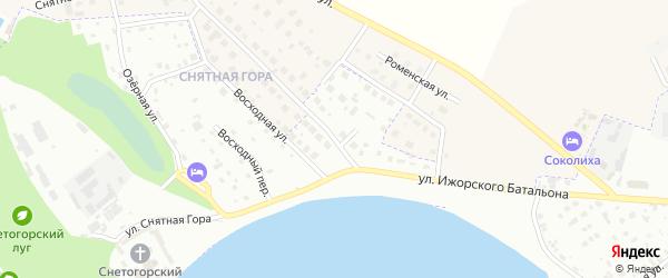 Колокольная улица на карте Пскова с номерами домов